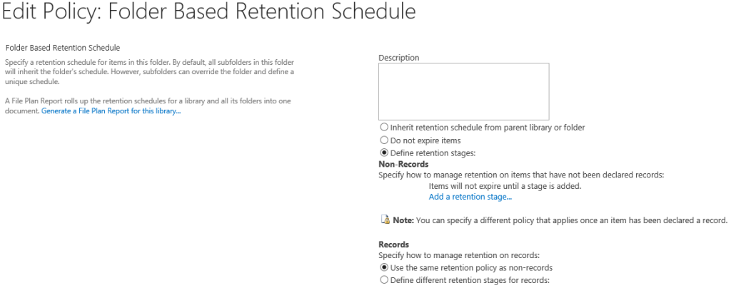 retention policy 3