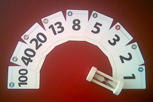 Example of Planning Poker cards (source: www.it-zynergy.com)