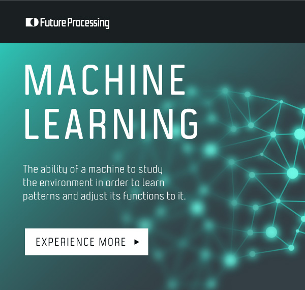 Future processing shares a machine learning infographic