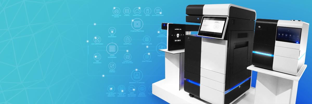 Future Processing on konica Minolta's Workplace Hub