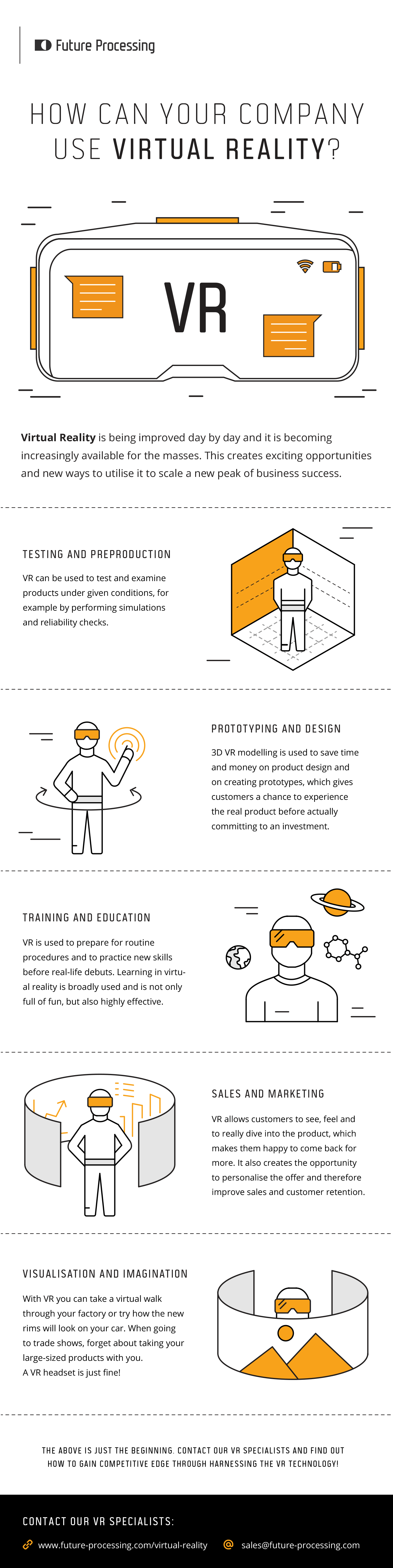 VR infographic