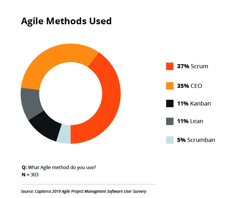 Agile Methods Used